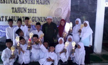 Madin Abima Juara Umum FESMA Tingkat Kabupaten Gunungkidul 2012