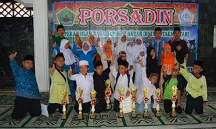 Madrasah Diniyah Abdulloh bin Mas'ud Juara Umum Porsadin 2016