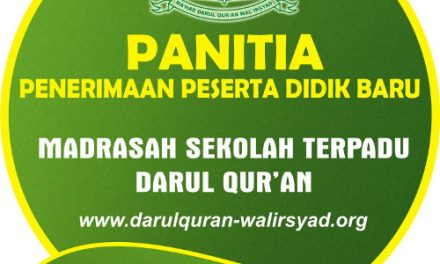 Jadwal Tes Masuk MI Darul Quran
