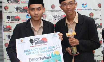 SMK Darul Quran Wonosari Terbaik Film Pendek ICT Camp 2016 se DIY