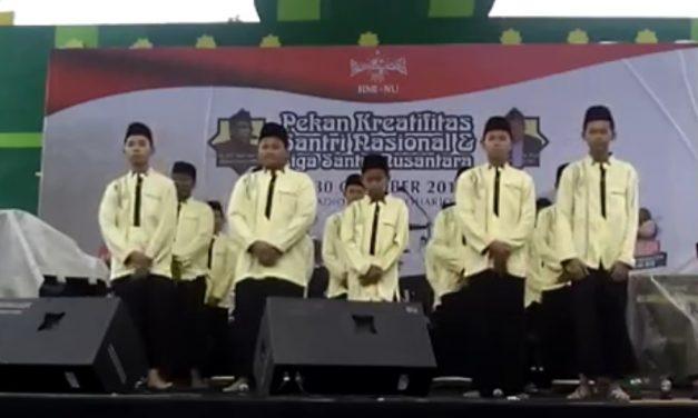 Darul Quran Raih Juara 2 Festival Hadroh Pekan Kreatifitas Santri Nasional