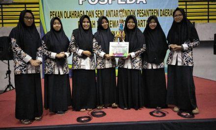 Darul Quran Raih 7 Kejuaraan Pospeda DIY