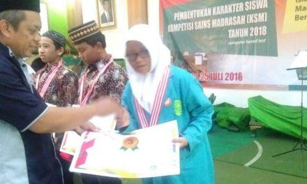Medali KSM Kembali Diraih Siswa MI Darul Quran