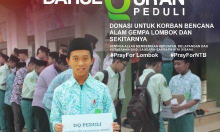 Darul Qur'an Peduli Gempa Lombok