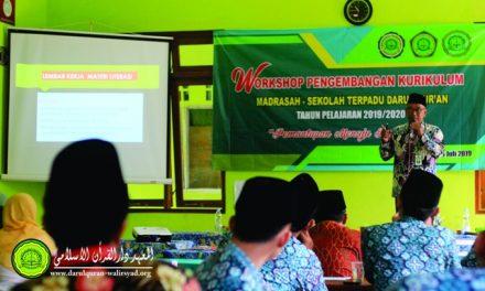 Mengawali Tahun Pelajaran Baru, MST Darul Quran Gelar Workshop