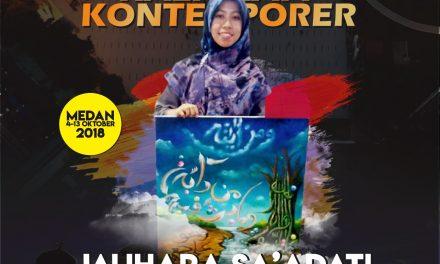 Mengenal Jauhara Sa'adati Sang Jawara Kaligrafi Kontemporer Tingkat Nasional