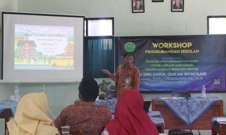 SMK Darul Quran Gelar Workshop Pengembangan Sekolah