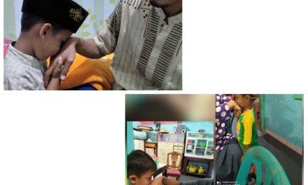 Penanaman Karakter Siswa RA Darul Quran di Masa Pandemi